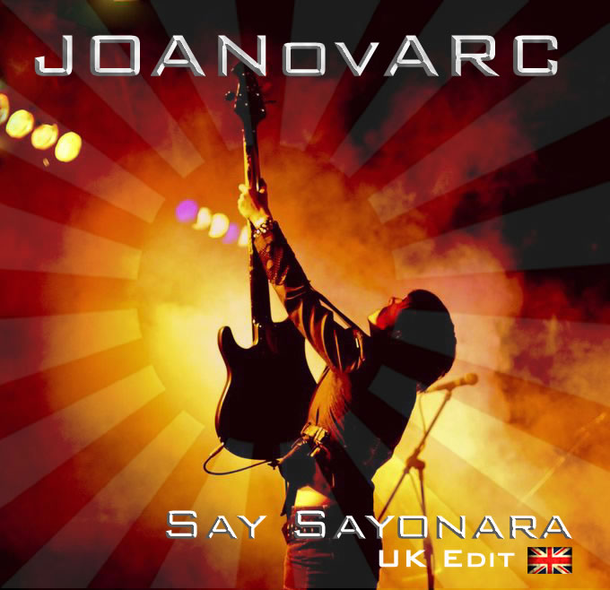 All girl rock band JOANovARC, single Say Sayonara, melodic rock