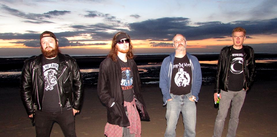 UK rock band The Senton Bombs Holier Than Thou Records