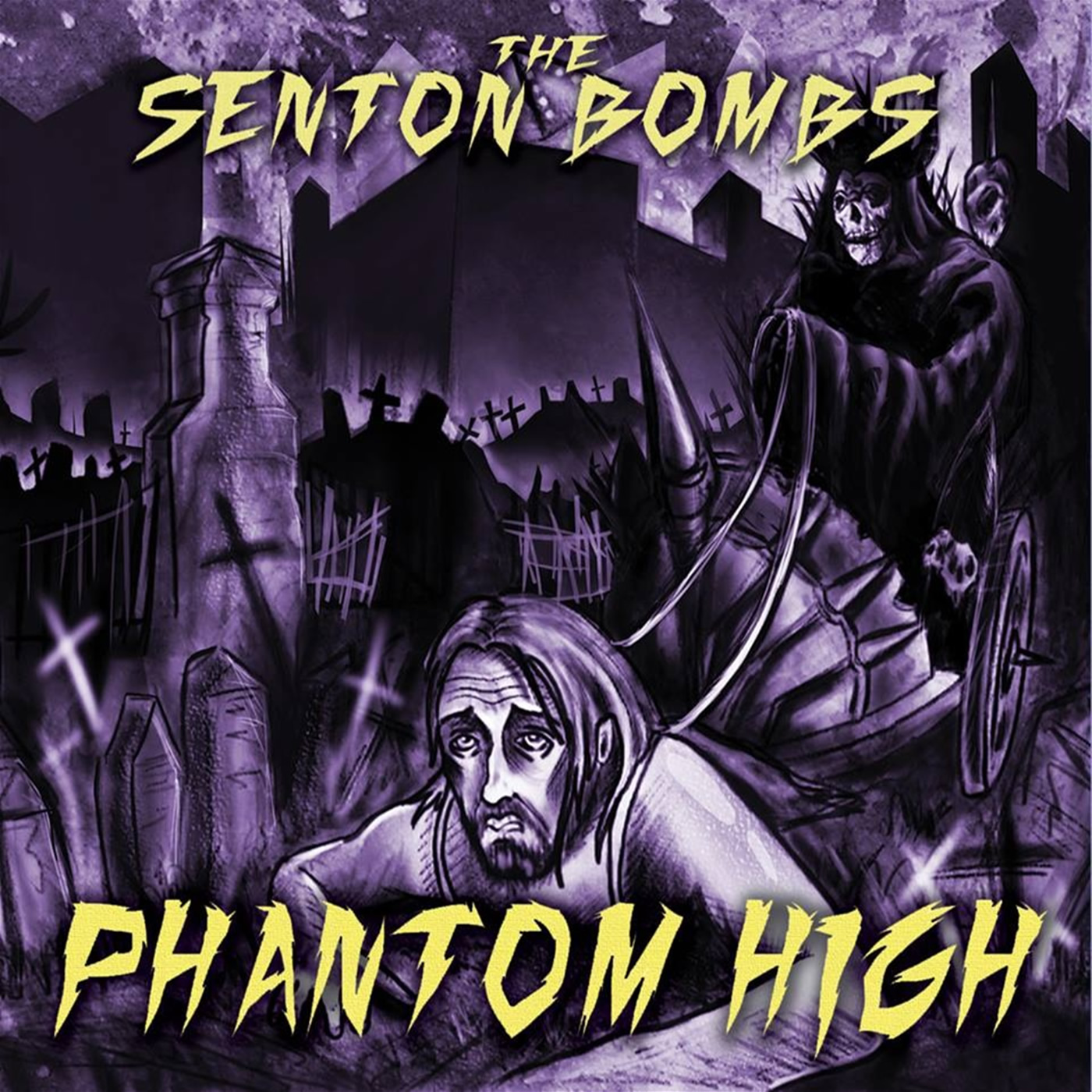 Punk rock band The Senton Bombs music download stream Phantom High