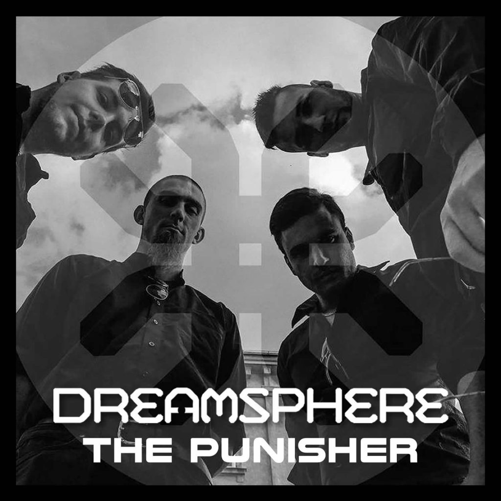 Metal band Dreamsphere single release The Punisher Holier Than Thou Records