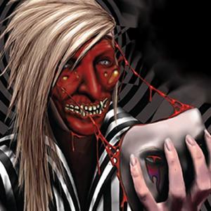 Black Comic Horror Rock and Metal band Ward XVI